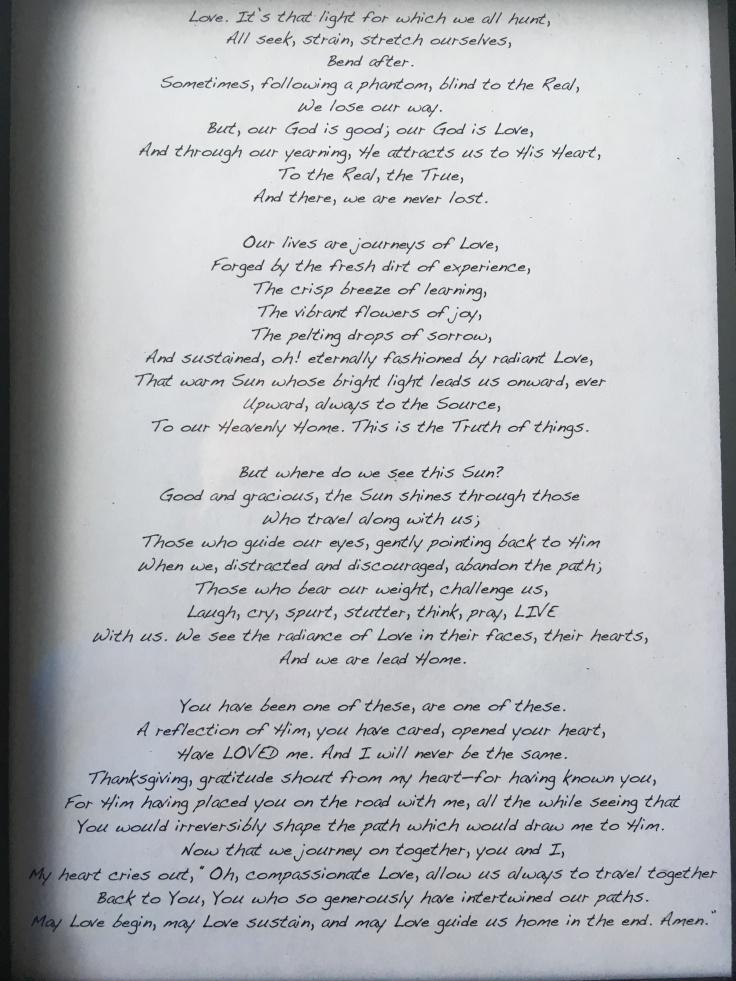Meghan Perks.Poem